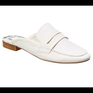 Dolce Vita White Loafers Size 6